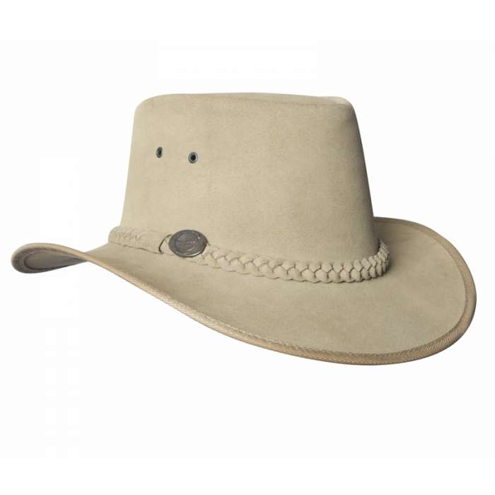 Hat: Suede, Leather - Full
