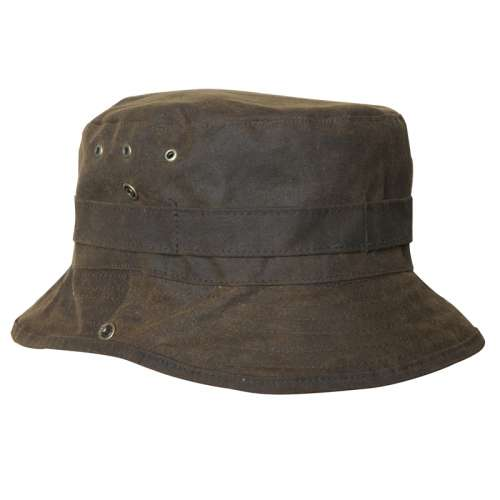 Hat: Bush Hat Oilskin